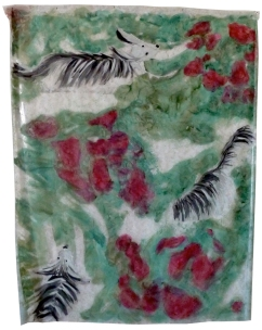 Acrylique sur plastique, 2013, 170 x 140 cm