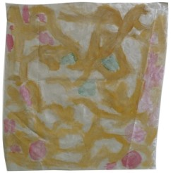 Acrylique sur nappe, 50 x70 cm, 2013