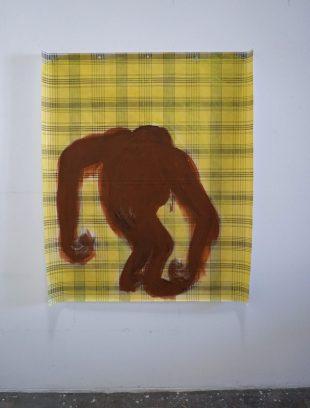 Acrylique sur toile cirée, 120 x 140cm